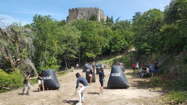 Battle Archery au Château de Castelnou