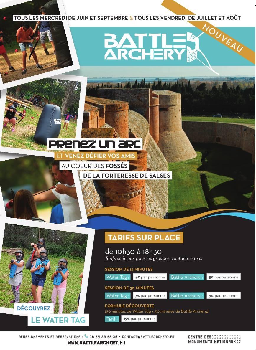 Battle Archery Forteresse de Salses