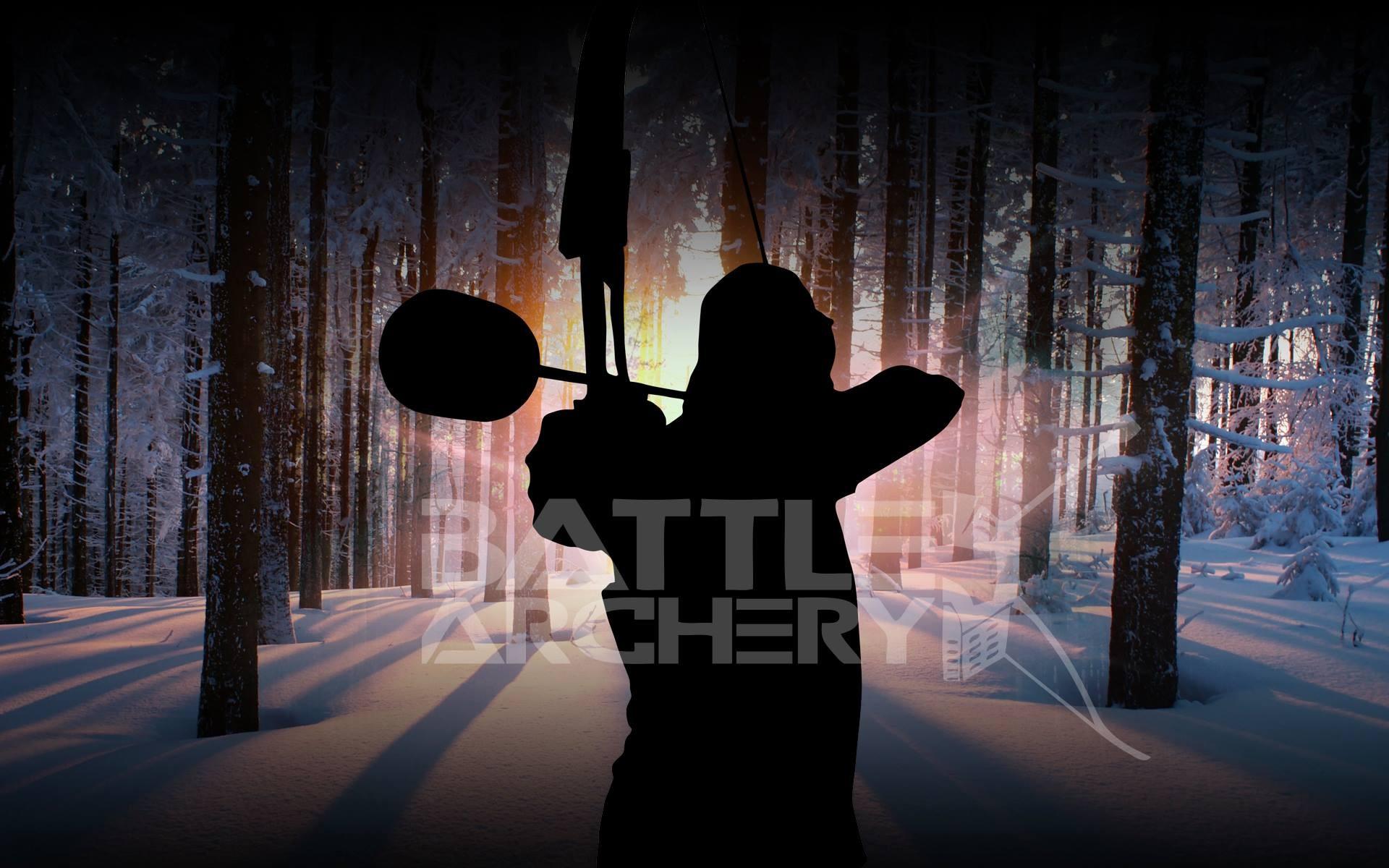 Battle Archery sur la neige