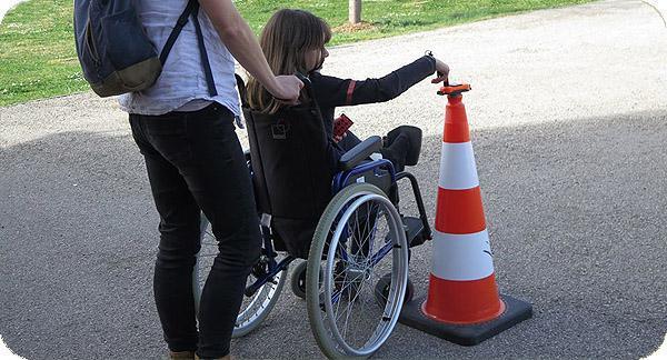 Learn-O pour personnes à mobilité réduite